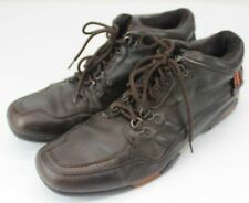 Men's Impluse Casual Shoes Brown Leather Size 12 Comfortable Lace Up Shoes