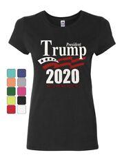 Keep America Great Women's T-Shirt President Trump 2020 MAGA Republican Shirt