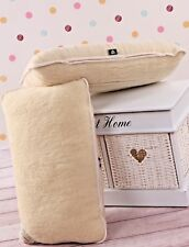 TWO 100% Merino Wool Pillows Lambswool PILLOW COVER Size 45x75cm *NEW*