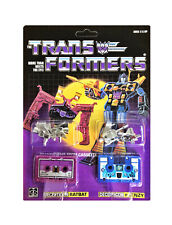 TRANSFORMERS G1 Reissue cassettes Ratbat and Frenzy  brand new