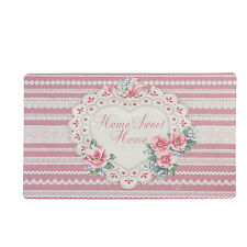 Clayre&Eef Paillasson HOME SWEET shabby vintage paysage maison