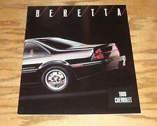 Original 1988 Chevrolet Beretta Deluxe Sales Brochure 88 Chevy