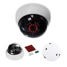 S6 CCTV interior falsa camara simulada de seguridad de boveda con IR LEDs blanco