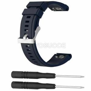 Sport Silicone Watch Band Strap For Garmin Fenix 5 5S 5X Plus 6 6S 6X Pro Solar