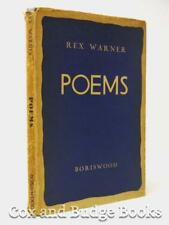 REX WARNER Poems 1st/1st HB DW 1937 the author's first collection of verse