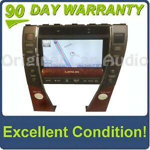 2010 - 2012 Lexus ES350 OEM Navigation GPS System Monitor Radio Screen