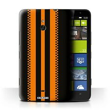STUFF4 Phone Case for Nokia Lumia Smartphone/Racing Car Stripes/Protective Cover