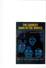 1982 KISS CREATURES OF THE NIGHT LOUDEST BANK IN THE WORLD POSTER AD PRINT H984
