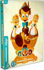 Pinocchio - Mondo #31 - Limited Edition Blu-ray Steelbook New Sealed