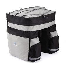 Gepäckträgertasche in Grau für Fahrräder