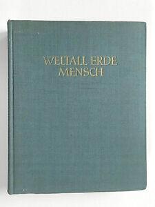 Weltall Erde Mensch Jugendweihe DDR Kult ! 1954, Ausgabe 1958 Top Zustand Anlage