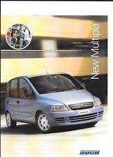 FIAT MULTIPLA dinamico, Dynamic plus e ELEGANZA opuscolo luglio 2004 per il 2005