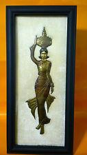 Burmese Bronze Handmade framed wall art