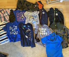 Lot Of Boys Clothes Size 10/12 Old Navy, Wrangler, Star Wars, Minecraft, Spiderm