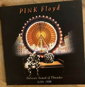 """PINK FLOYD : """"Delicate sound of Thunder - Lille 1998"""" (RARE 2 CD)"""