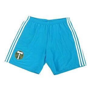 Portland Timbers MLS Adidas Men's  Bold Aqua Climaliate Condivo 18 Team Shorts