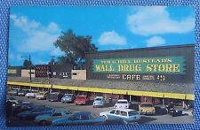 Hustead's Wall Drug Store Postcard - Wall, South Dakota