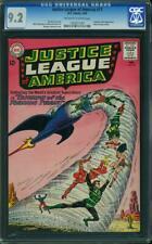 JUSTICE LEAGUE OF AMERICA #17 CGC 9.2 OWW ADAM STRANGE CAMEO CGC #1165071007