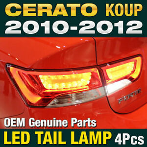 OEM Parts Surface Emission Trunk LED Tail Lamp 4P for KIA 2010-2013 Cerato Koup