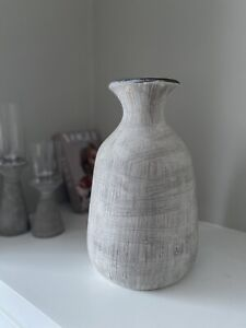 Bloomville Ople Stone Effect Vase - Large Ceramic Stone Effect Vase New in Box