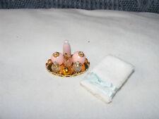 Nostalgie-Zubehör-Badezimmer-Puppenhaus-Puppenstube-1:12