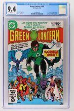 Green Lantern #142 - DC 1981 CGC 9.4 Omega Men Appearance. Adam Strange backup s