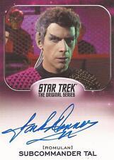"""Star Trek Aliens - Jack Donner """"Subcommander Tal"""" Auto/Autograph Card"""