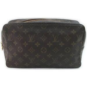 Louis Vuitton LV Pouch TrousseToilette 28 M47522 Browns Monogram 1518445