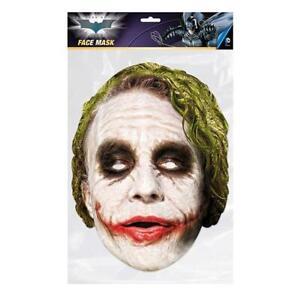 The Joker The Dark Knight Mask Fancy Dress Costume Maskarade Cosplay