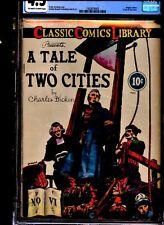 Classic Comics Illustrated #6 Tale of 2 Cities CGC 4.5 original 1ST EDITION