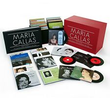 MARIA CALLAS - CALLAS SÄMTLICHE STUDIOAUFNAHMEN REMASTERED 70 CD NEW+