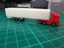 N gauge, 3d printed articulated lorry