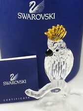 SWAROVSKI CRYSTAL COCKATOO RETIRED 2006 MIB #261635