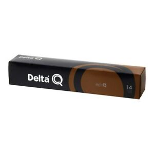 Pack 30 Coffee capsules Delta Q intensity 14 - Best seller Portuguese Coffee