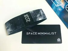 ZOX **SPACE MINIMALIST** Silver Strap med Wristband w/Card New Mystery Pkg
