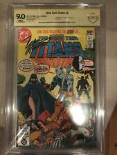 The New Teen Titans #2 Sign/Sketch by Perez and Signed Wolfman 1st Deathstroke