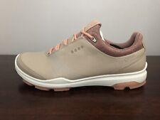 ECCO Women's Golf BIOM Hybrid 3 Shoes Gore Tex Size 6-6.5 (EU 37) Oyester/Clay