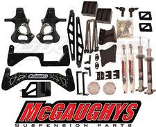 "McGaughys 2014 - 2016 Chevy Silverado 4WD 7-9"" Black Lift Kit 50767-SSB"