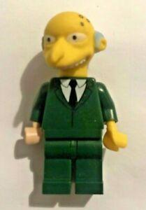 Lego Mr Montgomery Burns The Simpsons Minifigure