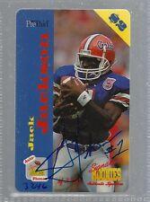 Jack Jackson 1995 Signature Rookies Auto Phonex Auto Phone Card #18