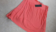 """DIESEL WOMEN'S FITTED """"BLACK GOLD"""" SUMMER BRIGHT RED SKIRT - SMALL - NEW & TAGS"""
