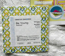 CREATIVE MEMORIES BE YOUNG 6x6  STACK PACK BNIP