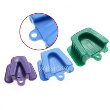 3 Pcs Oral Dental Opener Retractor Silicone Mouth Prop Rubber Latex Bite Block