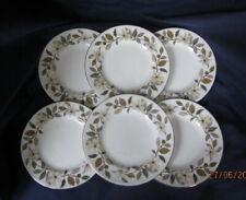 WEDGWOOD VINTAGE BEACONSFIELD 6 x SIDE TEA PLATES 15½CM