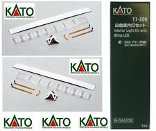 KATO 11-209 N.1 Kit COMPLETO ILLUMINAZIONE INTERNA  VAGONI a LED BIANCHI SCALA-N
