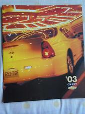 Chrysler range brochure 2003 USA market Spanish text