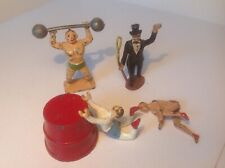 Charbens and Timpo original lead circus figures.