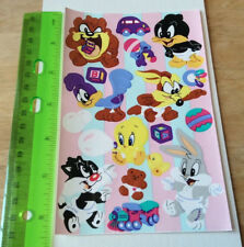 Sandylion Vintage Baby Looney Tunes Stickers 1 Maxi Sheet RETIRED