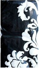 2-ply Set of 16 Guest Towels Hostess Napkins ~ Black White Damask