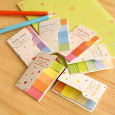 Portable Sticker Bookmark Point It Memo Post Flags Notepad Sticky Notes 90 Pages